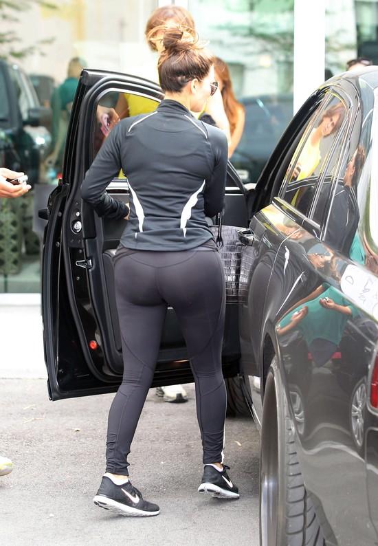 Kim Kardashian w sportowym wydaniu