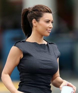 Kim Kardashian na wakacjach