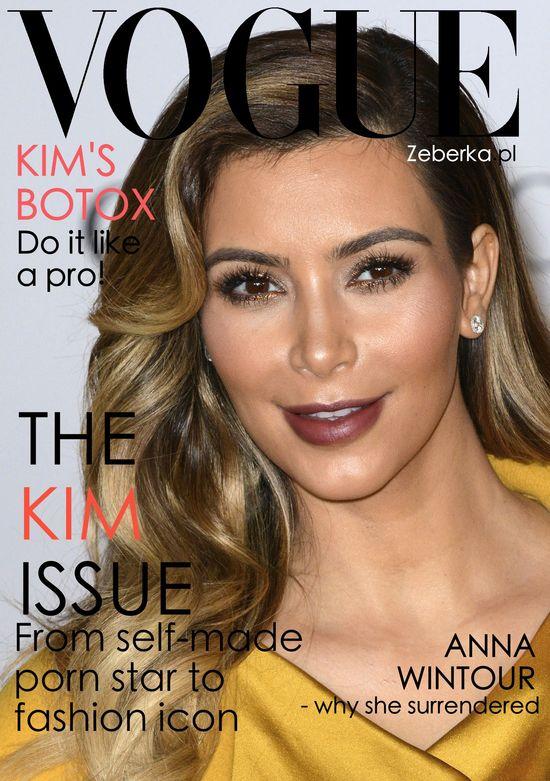 Kim Kardashia  jednak nie będzie miała okładki Vogue'a