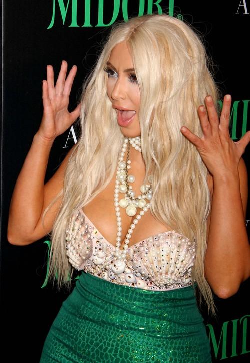 Kim Kardashian jako syrenka (FOTO)