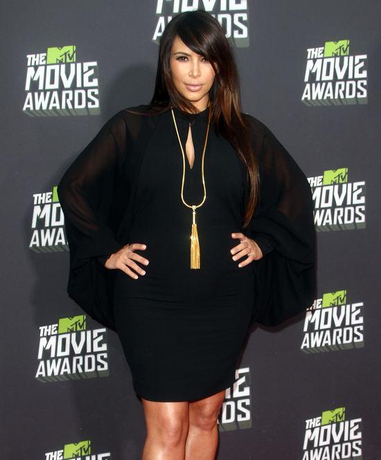 Kopiujemy fryzurę Kim Kardashian z gali MTV Movie Awards