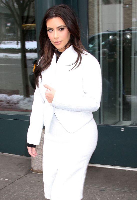Kim Kardashian wraca do bieli? (FOTO)