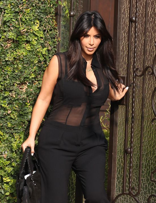 Prześwity w ciąży? Dla Kim Kardashian wszystko jest możliwe