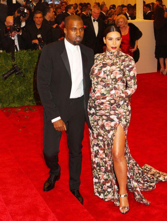 Kim Kardashian w sukni Givenchy na MET Gala 2013