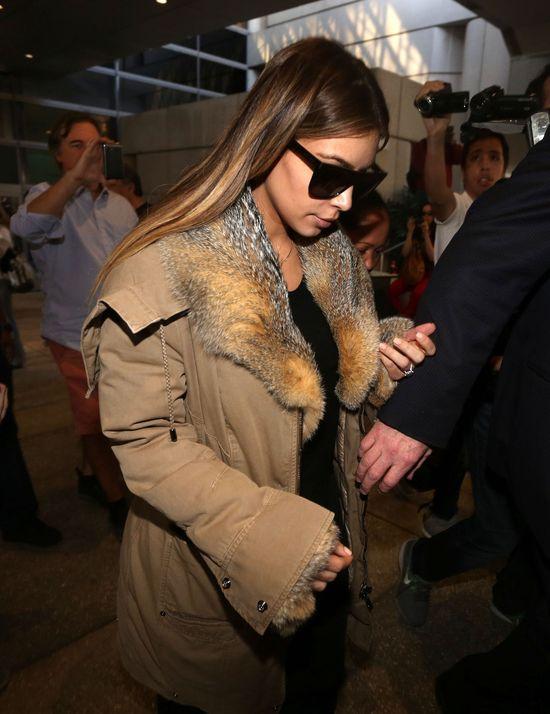 Kim Kardashian w końcu dobrała stylizację do pogody (FOTO)