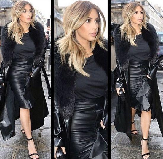 Kim Kardashian w Paryżu zadaje szyku (FOTO)