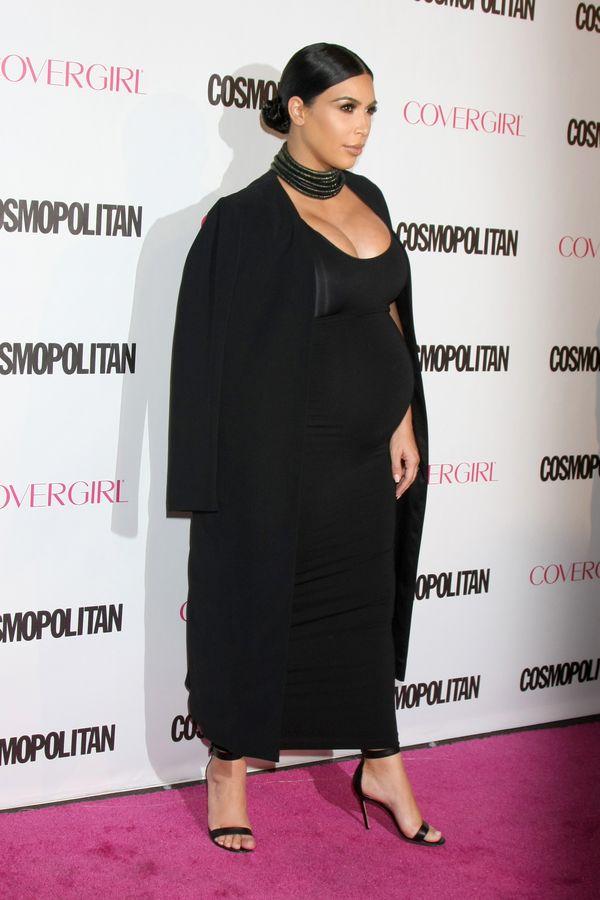 Zgadniecie ile już przytyła Kim Kardashian?