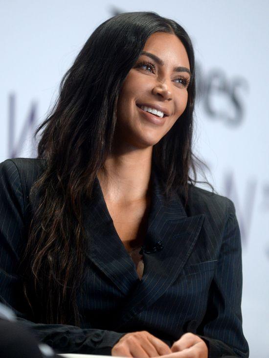 OMG! Kim Kardashian już na począku września zdradziła, że jest w ciąży...