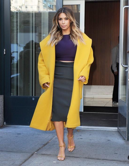 Kim Kardashian i jej dwie jesienne stylizacje (FOTO)