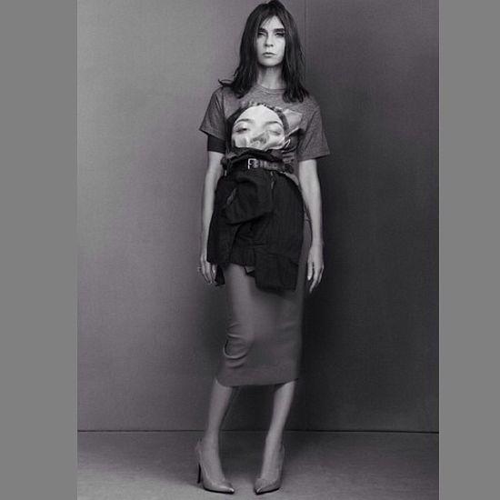 Carine Roitfeld znowy promuje Kim Kardashian (FOTO)