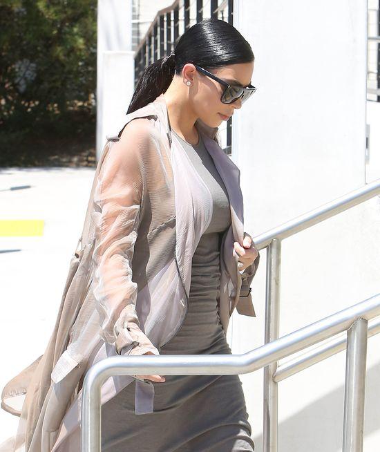 Kim Kardashian, zdradziła, ile już przytyła w ciąży...