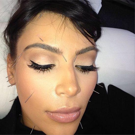 Wiktoria Grycan wbiła sobie igły w makijaż! (FOTO)