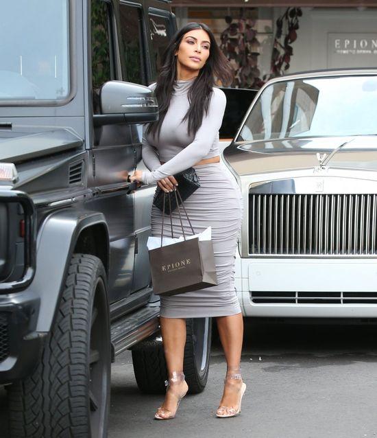 Tak... Kim Kardashian i Kanye West kłóca się o garderobę...