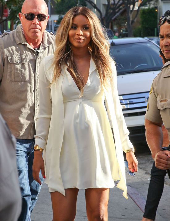 Kim Kardashian i Ciara na wspólnych zakupach (FOTO)