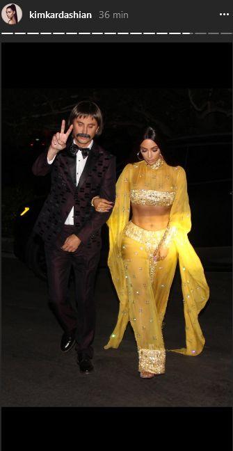 Sześciopak na brzuchu Kim Kardashian? Tego się nie spodziewacie... (INSTA)