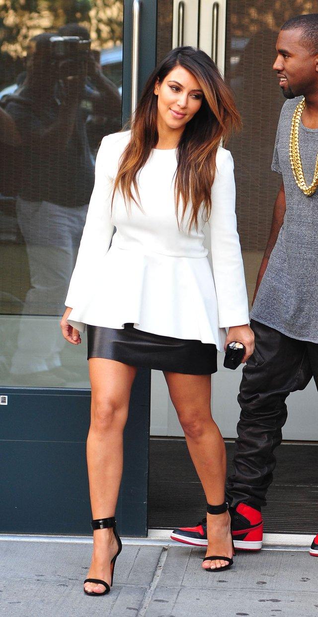 Kim Kardashian zafundowała sobie ombre hair (FOTO)