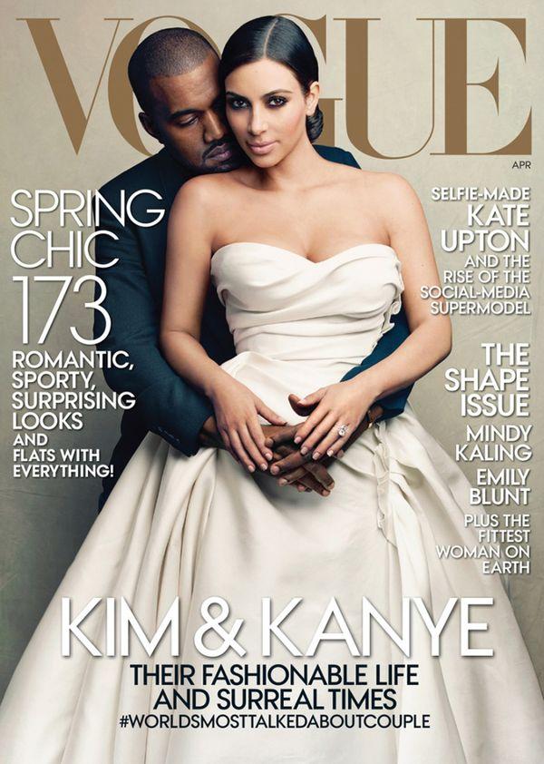 Kim Kardashian na okładce Vogue'a! (FOTO)