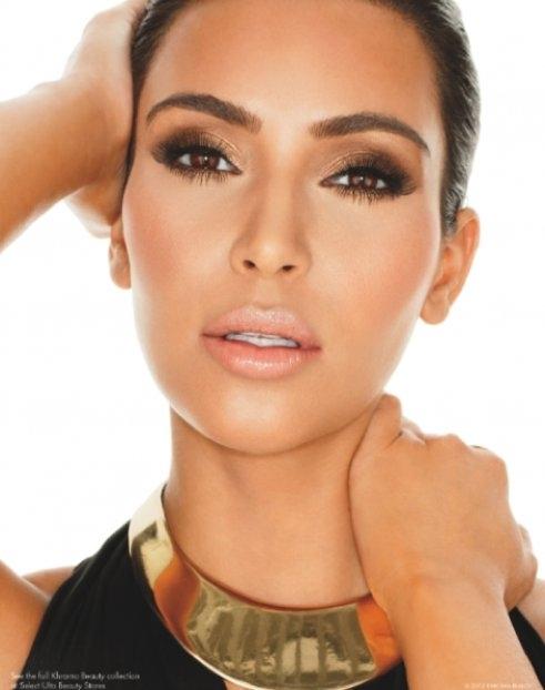 Siostry Kardashian promują swoją linię kosmetyczną