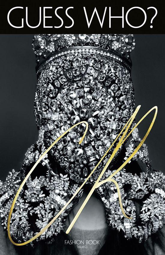 CarineRoitfeld znowy promuje Kim Kardashian (FOTO)