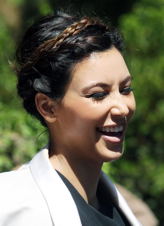 Warkocz Kim Kardashian - ładny? (FOTO)