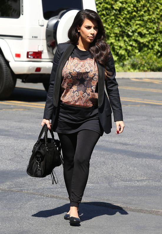 Kim Kardashian w Givenchy (FOTO)