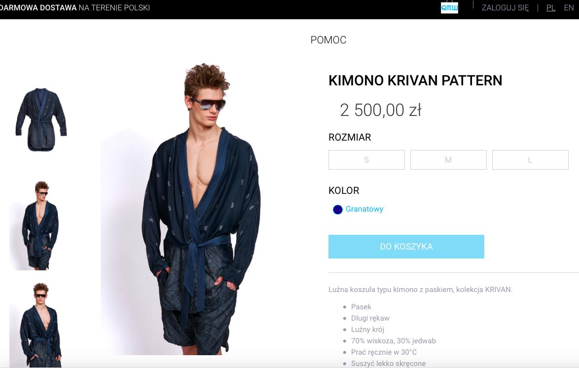 SZOK! Kimono Honoraty Skarbek kosztowało... 2 500 zł! (FOTO)