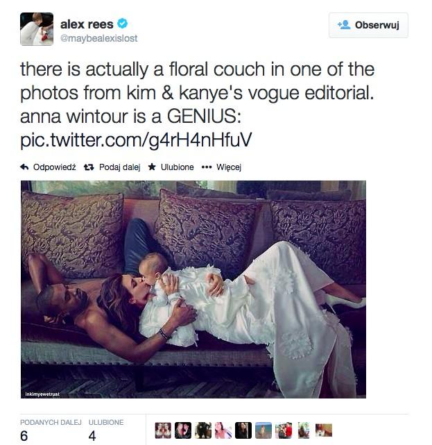 Kim Kardashian dla Vogue'a - są zdjęcia! (FOTO)