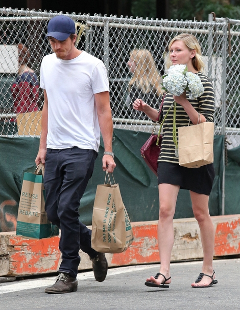 Kirsten Dunst nie boi się pasków (FOTO)