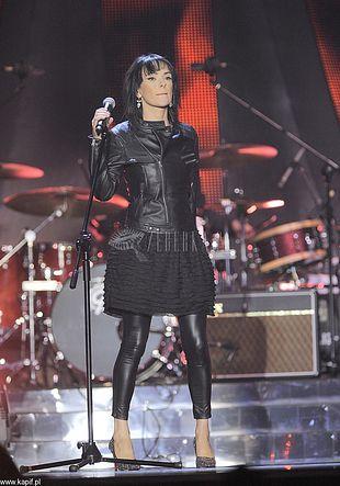 Rockowa Kasia Kowalska na Festiwalu Top Trendy