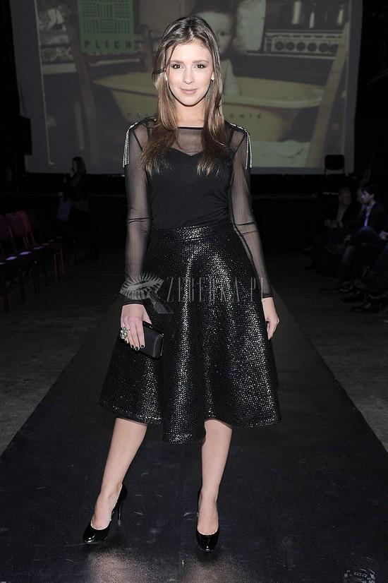 Klaudia Halejcio elegancka w czerni (FOTO)
