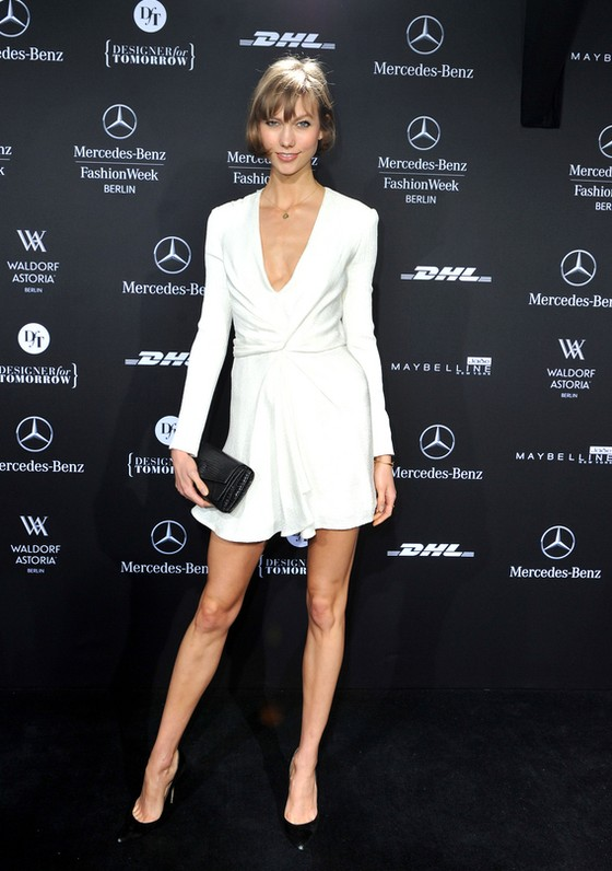 Karlie Kloss na Mercedes-Benz Fashion Week jesień-zima 2013
