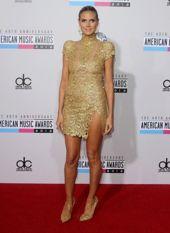 Heidi Klum w sukni Alexandre Vauthier's
