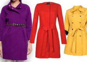 kolorowe płaszcze