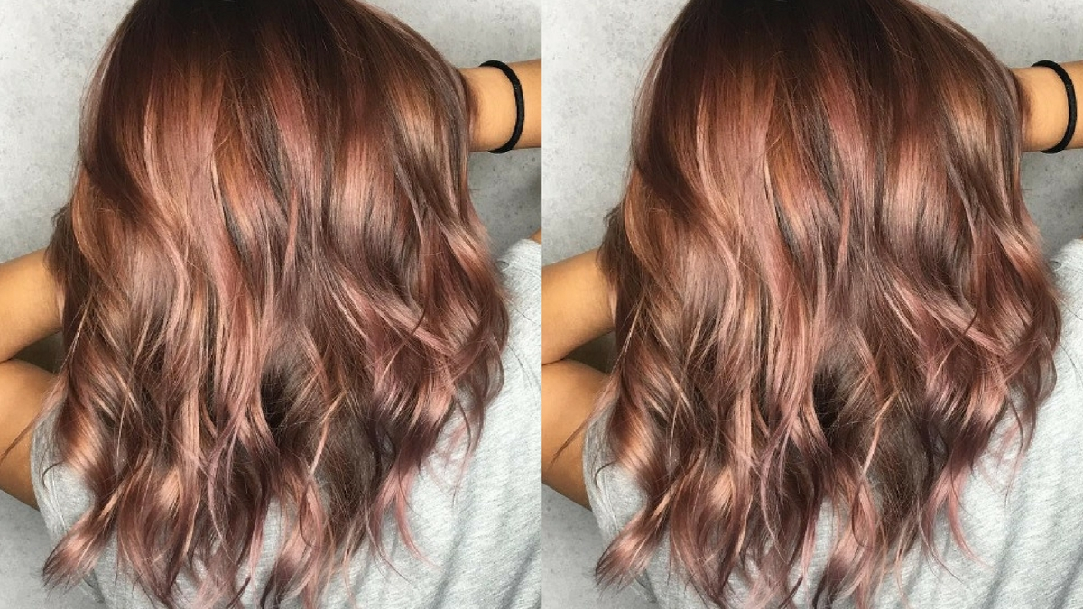 modna koloryzacja włosów
