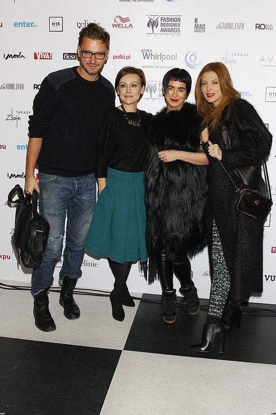 Fashion Designer Awards - Mikołaj Komar, Joanna Sokołowska-Pronobis, Agnieszka Maciejak, Ada Fijał