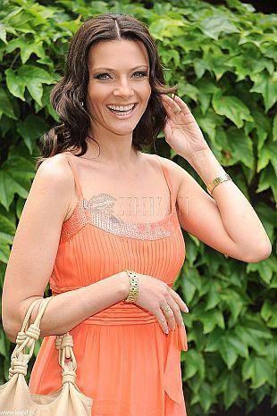 Agata Konarska w letniej sukience