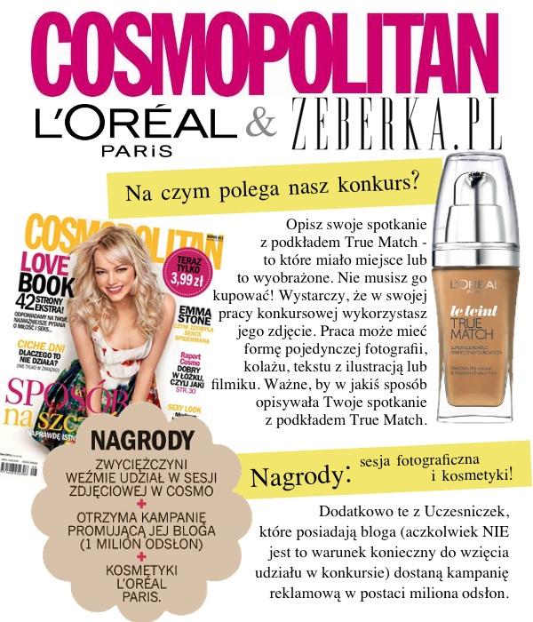Konkurs: Wygraj kosmetyki L'Oreal Paris i sesję w Cosmo!