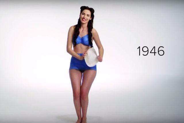 Tak zmieniała się moda na stroje kąpielowe w ostatnich 100 latach (VIDEO)