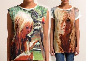 Koszulki z podobiznami Brigitte Bardot (FOTO)