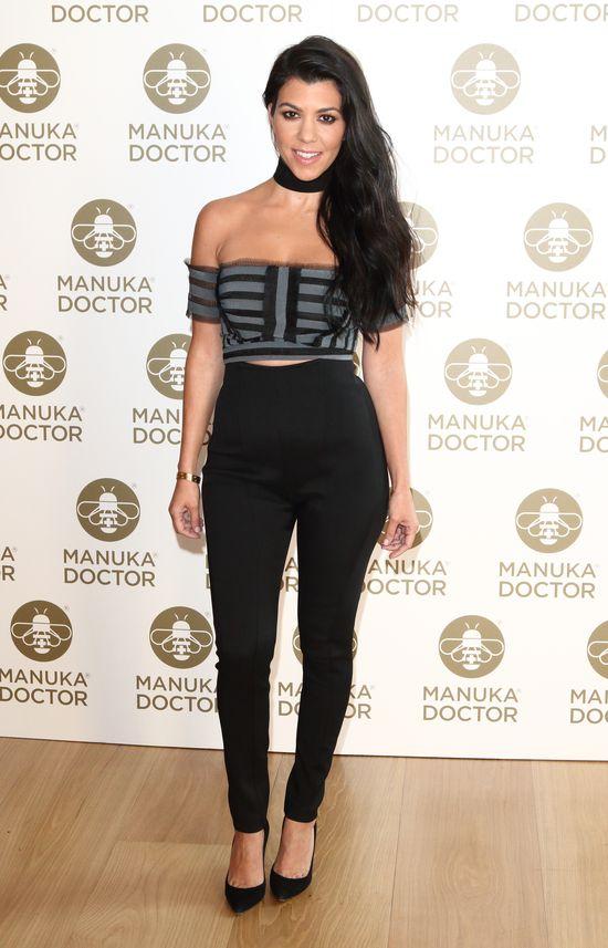 Opadnie Wam szczęka, gdy zobaczycie, w co ubrała się Kourtney Kardashian
