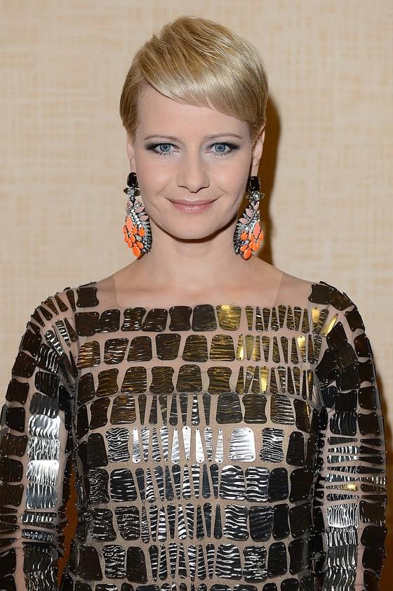 Małgorzata Kożuchowska w błyszczącej sukience