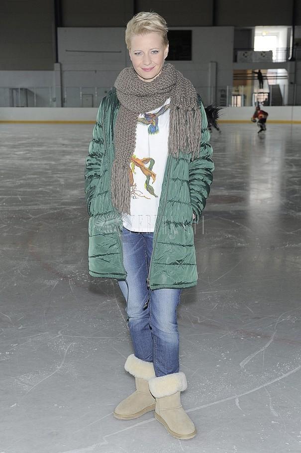 Małgorzata Kożuchowska w zimowej stylizacji