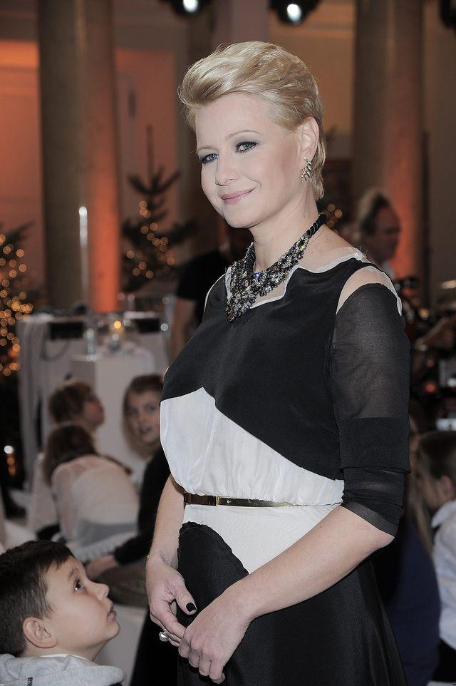 Małgorzata Kożuchowska pierwszy raz po porodzie! (FOTO)