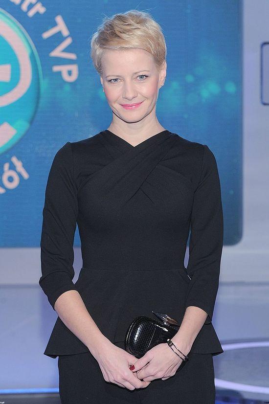 Czarny total look Małgorzaty Kożuchowskiej (FOTO)
