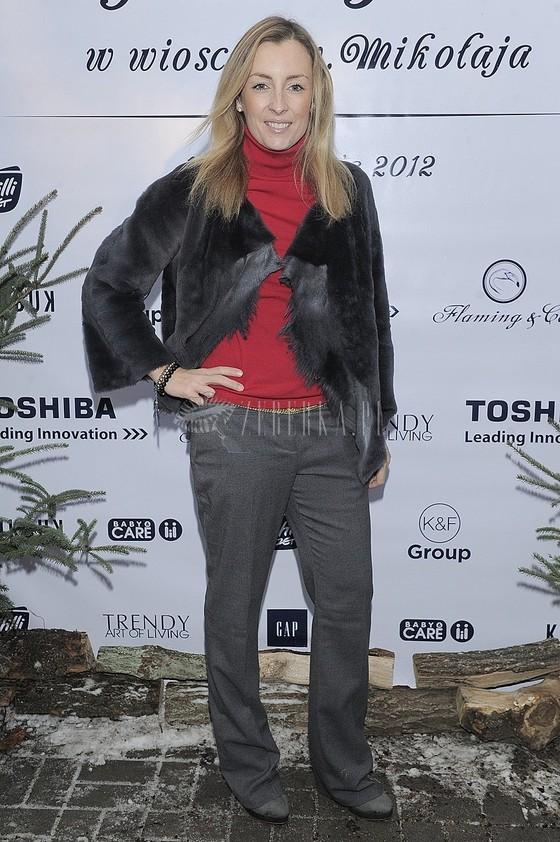 Karolina Kraśko w tej samej stylizacji na dwóch imprezach