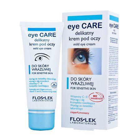 5 najlepszych kremów pod oczy dla skóry wrażliwej 20+ i 25+