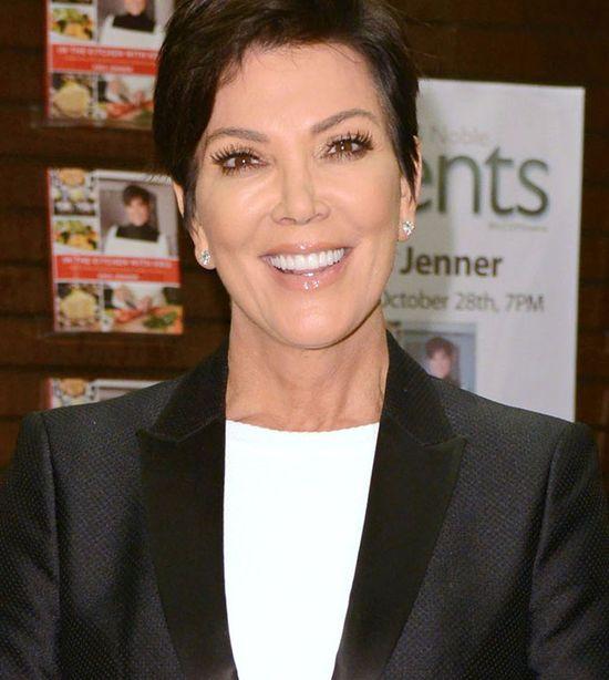 Kris Jenner tym razem nie zapomniała o dawce uśmiechu...