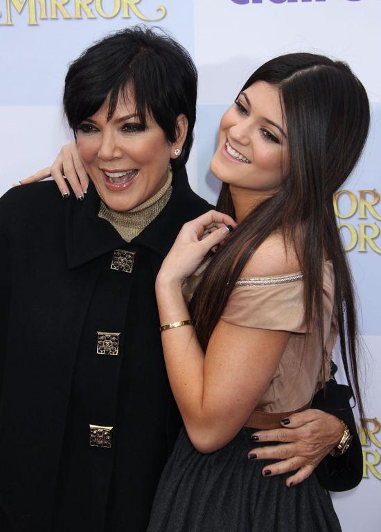 Kris Jenner bynajmniej nie jest fanką wielkich ust Kylie