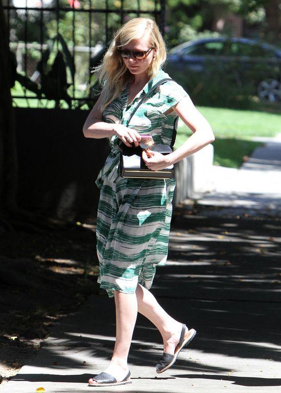 Kristen Dunst w zielonej sukience (FOTO)
