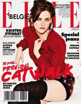 Kristen Stewart w belgijskim Elle